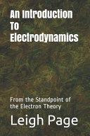 An Introduction To Electrodynamics PDF