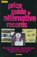 Goldmine Price Guide to Alternative Records PDF