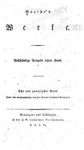 Goethe's werke: Bände 28-30