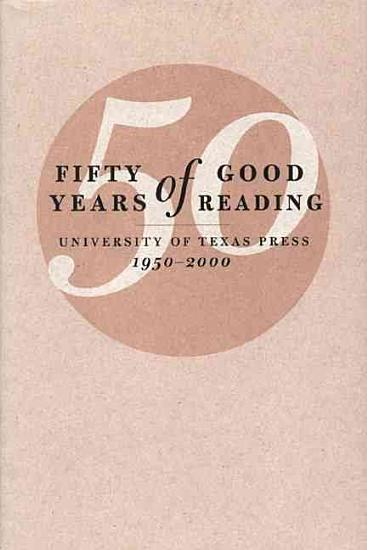 Fifty Years of Good Reading PDF