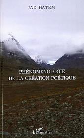 Phénoménologie de la création poétique
