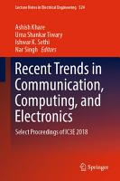 Recent Trends in Communication  Computing  and Electronics PDF