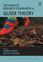 The Ashgate Research Companion to Queer Theory PDF