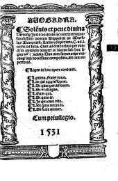 Avogadra: Lectura super tit. C. ad L. corneliam de siccariis : cum additionibus