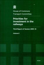 Priorities for investment in the railways