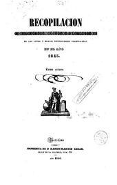 Recopilación estractada [sic], ordenada y metódica de las leyes y reales disposiciones ..., 8