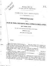 Atti parlamentari della Camera dei deputati legislatura 11., sessione 2. 1871-72: 87-100A