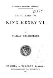 Third Part of King Henry VI