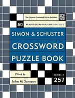 Simon and Schuster Crossword Puzzle Book #257