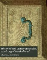 Historical and Literary Curiosities PDF
