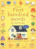 First Hundred Words in German PDF