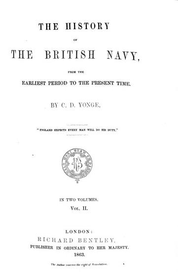 The History of the British Navy PDF