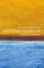 Entrepreneurship  A Very Short Introduction PDF