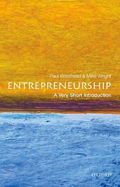 Entrepreneurship  A Very Short Introduction PDF