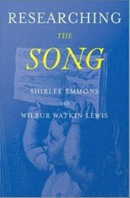 Researching the Song A Lexicon