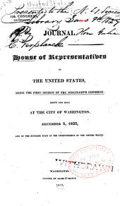 Journal of the House of Representatives of the United States: Volume 19, Issue 1
