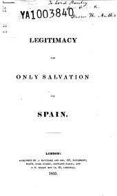Legitimacy: The Only Salvation for Spain