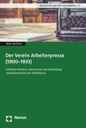 Der Verein Arbeiterpresse  1900 1933  PDF