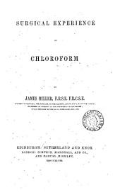 Surgical experience of chloroform