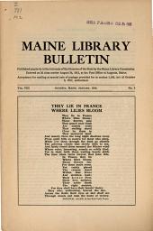 Bulletin: Volume 8