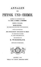 Annalen der Physik und Chemie: Band 28