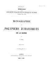 Mémoires suisses de paléontologie: Volume16