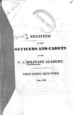 Official Register of the Officers and Cadets of the U S  Military Academy