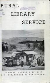 Rural library service