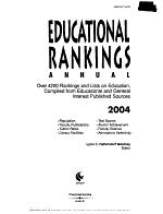 Educational Rankings Annual 2004 PDF
