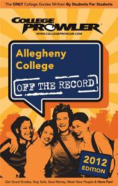 Allegheny College 2012