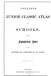 Collins's junior classic atlas
