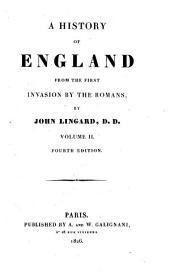 A history of England from the first invasion by the Romans: Volume 2