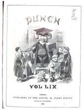 Punch: Volume 59