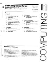 U M Computing News PDF