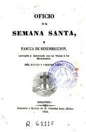 Oficio de la Semana Santa y Pascua de Resurreccion
