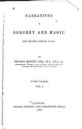 Narratives of Sorcery and Magic: From the Most Authentic Sources, Volume 1