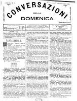 Conversazioni della domenica giornale d amene letture  letterario artistico illustrato PDF