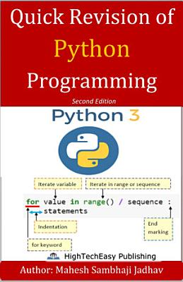 Quick Revision of Python programming PDF