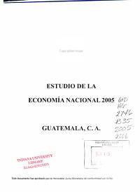 Estudio de la econom  a nacional PDF