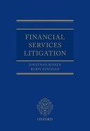 Financial Services Litigation PDF