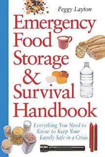 Emergency Food Storage   Survival Handbook Book