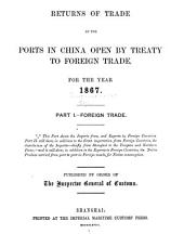 Returns of Trade at the Treaty Ports