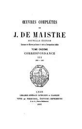 Oeuvres complètes: contenant ses oeuvres posthumes et toute sa correspondance inédite, Volume11