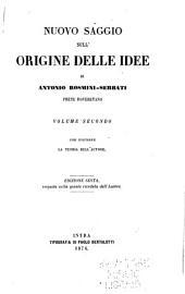 Nuovo saggio sull'origine delle idee: Volume 2