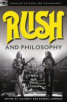 Rush and Philosophy PDF