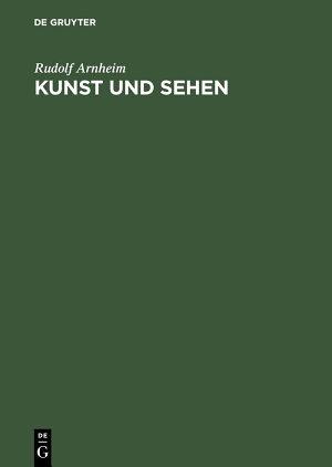 Kunst und Sehen PDF