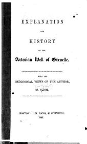 Explanation and History of the Artesian Well of Grenelle