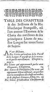 La Bibliotheqve françoise