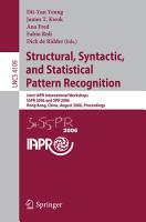 Structural  Syntactic  and Statistical Pattern Recognition PDF