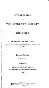 An Introduction to the Literary History of the Bible